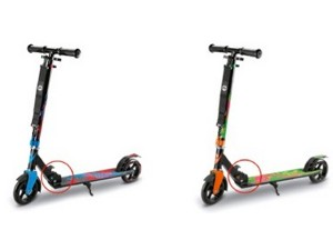 Recalled Delta Sport Scooters sold at Lidl 300x225