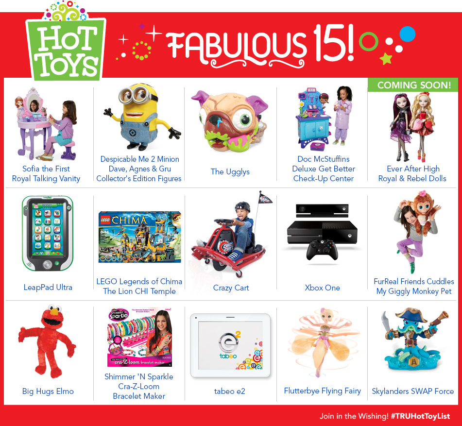 Top Toys At Toys R Us : Toys quot r us announces fabulous top toy list for