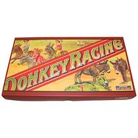 Donkey Racing Vintage Style Board Game