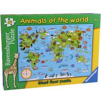 Animals of the World 60pc Giant Floor Puzzle from Hamleys