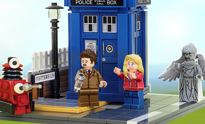 LEGO Ideas Doctor Who TARDIS by Andy Clark