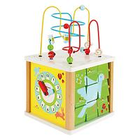 John Lewis Baby Large Activity Cube Toy