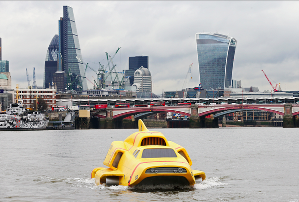 Thunderbird 4 Thames London Gerkin Shard Walkie Talkie