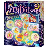 Great Gizmos Make Your Own Glow-in-the-Dark Fairy Buttons