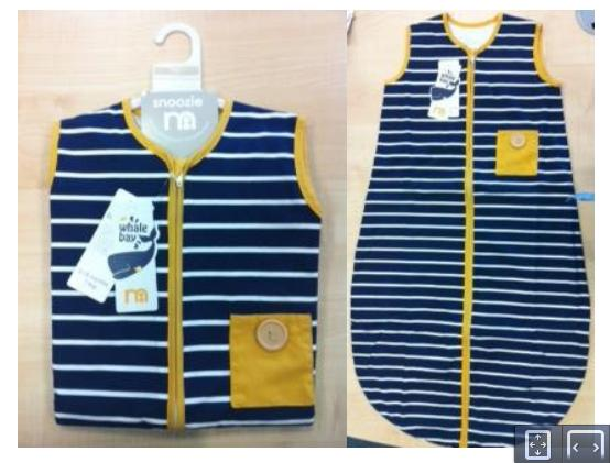 Recalled Mothercare Whale Bay Sleep Bags