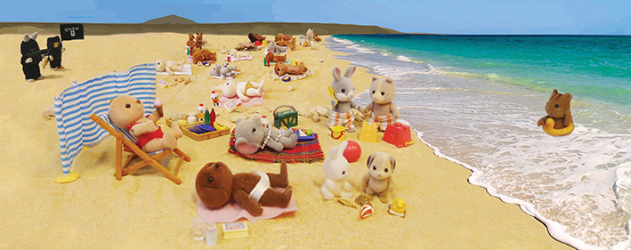 ISIS attack the Sylvanian beach resort
