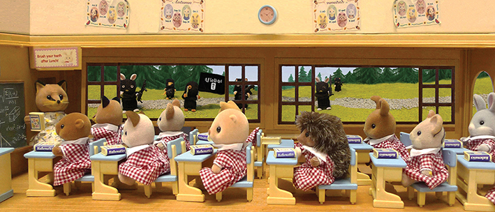 ISIS attack the Sylvanians girls school
