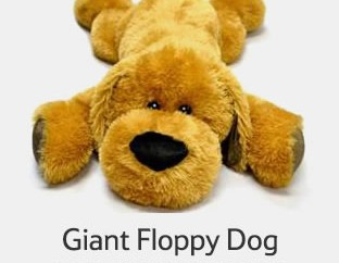 Recalled Horizon Procurement Plush Giant Floppy Dog sold at Tesco