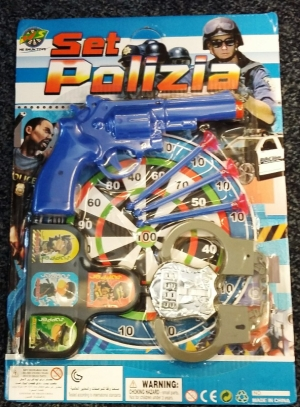 Recalled Sam 99p Polizia Toy Set due to excessive phthalates