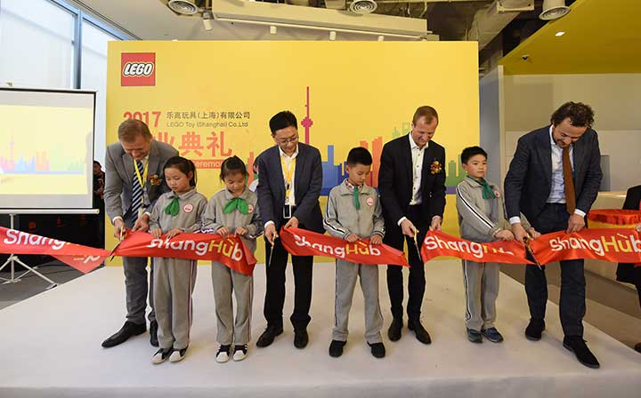 LEGO opens new main office in Shanghai