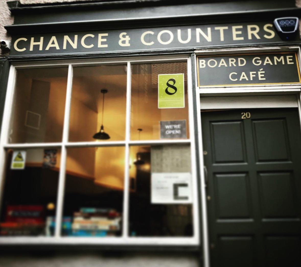 Chance & Counters board game cafe