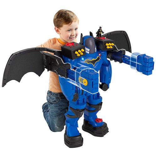 DreamToys 2017 Imaginext DC Super Friends Batbot Xtreme