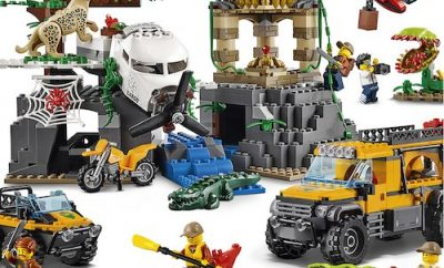 DreamToys 2017 LEGO City Jungle Explorers Jungle Exploration Site (60161)