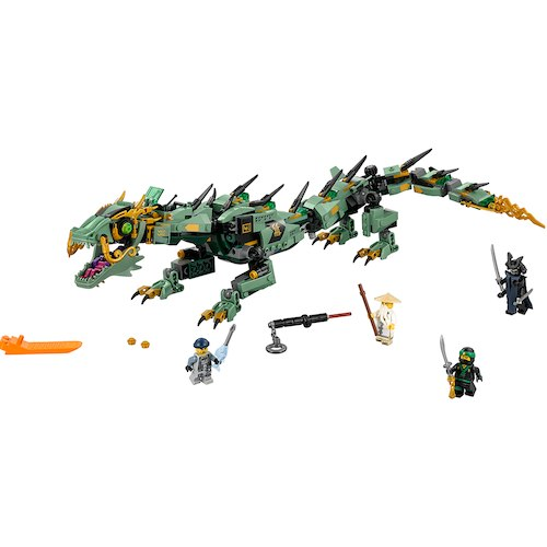 DreamToys 2017 LEGO Ninjago Movie Green Ninja Mech Dragon (70612)