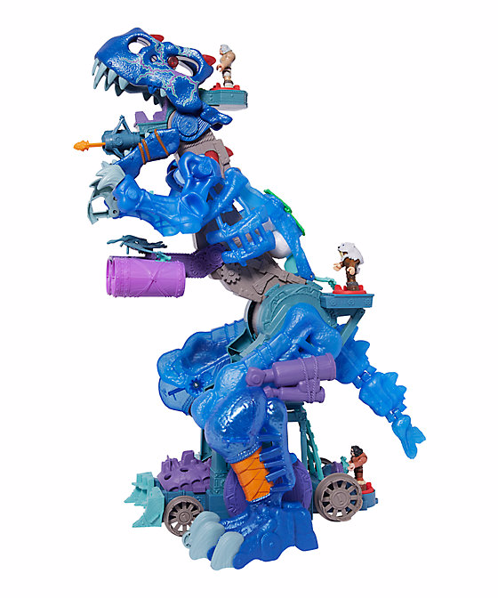Fisher Price Imaginext Ultra T rex in blue by Mattel