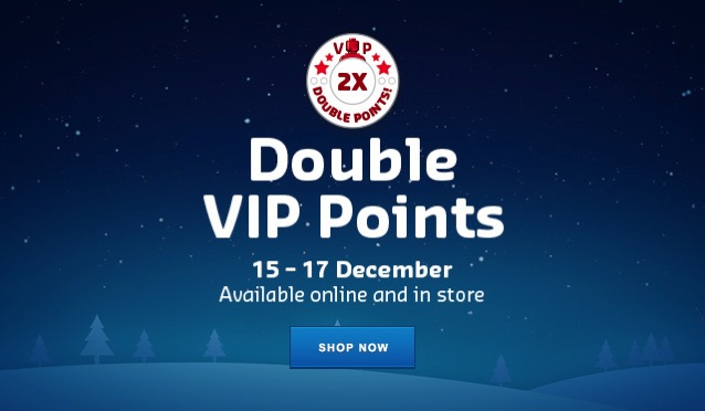 LEGO VIP Double Points 2017 December