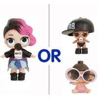L.O.L. Surprise! Mystery Pack - 1 x Tot or 2 x Lil Sisters from The Entertainer