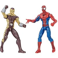 Marvel Spider-Man Homecoming 9.5cm Legends Figures - Spider-Man and Shocker from The Entertainer
