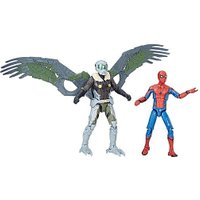 Marvel Spider-Man Homecoming 9.5cm Legends Figures - Spider-Man and Vulture from The Entertainer