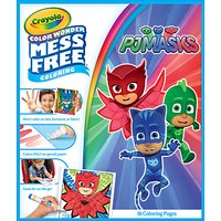 PJ Masks Colour Wonder Colouring Book