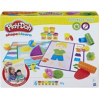 Play-Doh Shape & Learn Textures & Tools Set