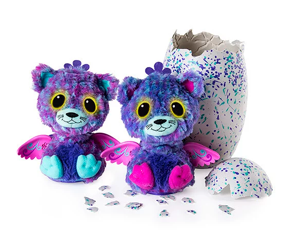 Hatchimal Suprise Twins purple by Spin Master Toys