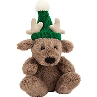 Jellycat Poppet Baby Reindeer Soft Toy, Tiny, Brown