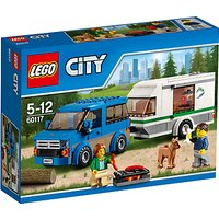 LEGO City 60117 Van And Caravan