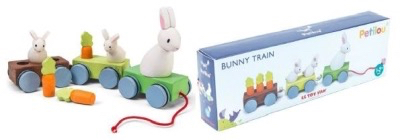 Recalled Le Toy Van Bunny train due to choking hazard