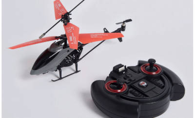 Recalled Marks and Spencer AI Copter - remote control helicopter due to overheating risk.