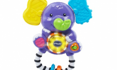 Recalled VTech Shake and Sing Elephant due to choking hazard.