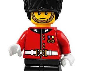 LEGO Exclusive Hamleys Guardsman Minifigure