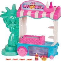 Shopkins World Vacation Hot Dog Stand Playset