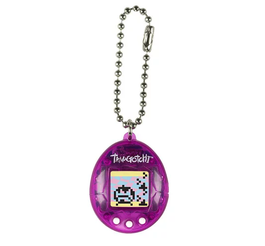 Tamagotchi - Transparent Purple