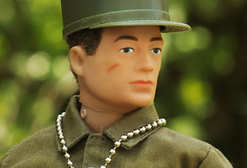 Action Man Solider 2017, a military doll for collectors