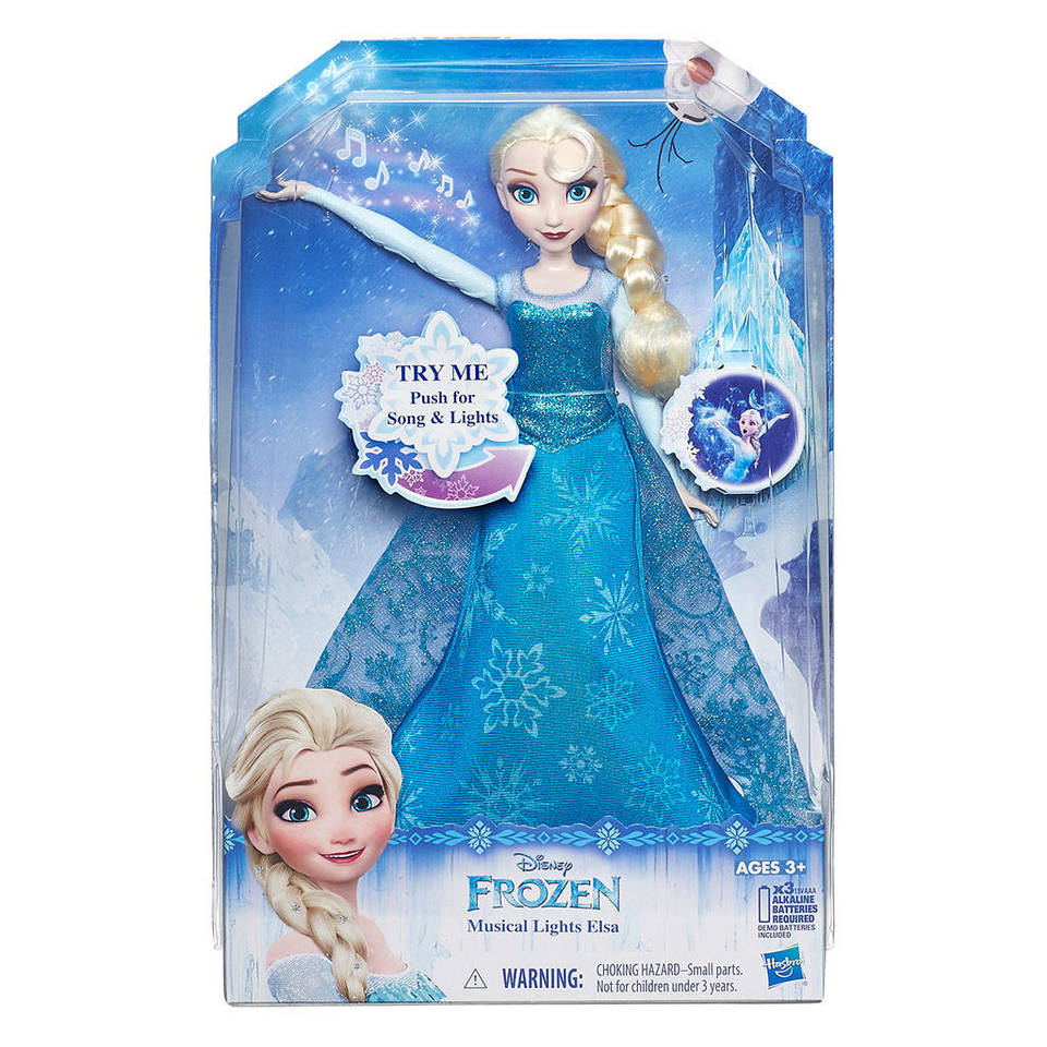Disney Frozen Musical Lights Elsa Doll by Hasbro