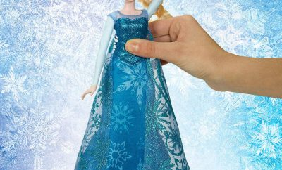 Disney Frozen Musical Lights Elsa Doll out of box