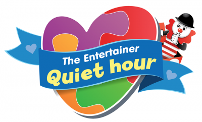 The Entertainer Quiet Hour Logo