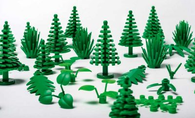 New Lego green and sustainable elements