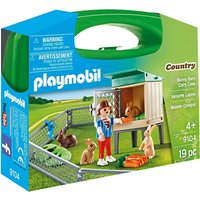 Playmobil Country 9104 Bunny Barn Carry Case