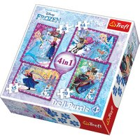 Trefl Disney Frozen 4in1 - Puzzles from The Entertainer