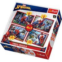 Trefl Disney Marvel Spiderman 4in1 - Puzzles from The Entertainer