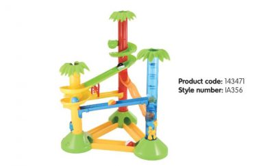 Recalled ELC Jungle Fun Ball Run due to the risk of collapse.
