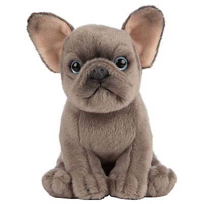 Picture of Living Nature French Bulldog Puppy Plush Soft Toy