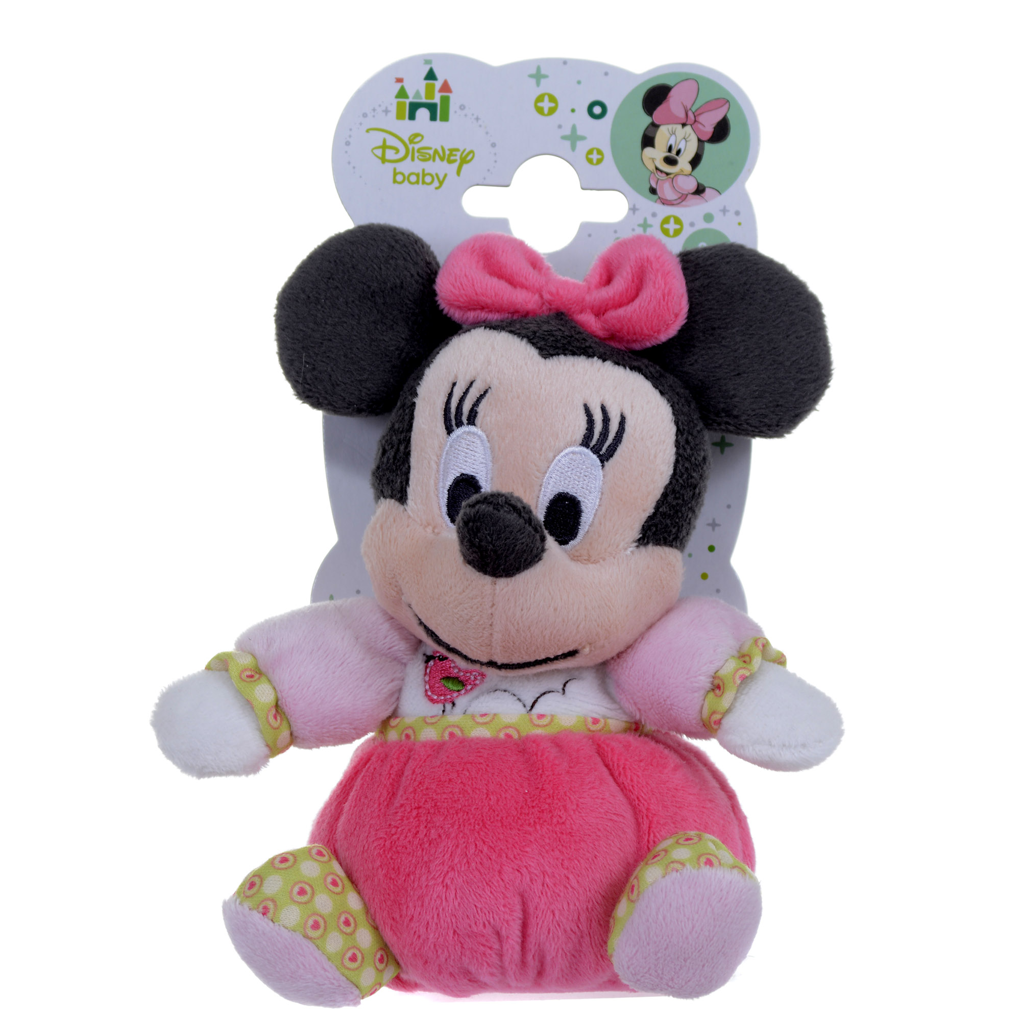 Picture of Disney Minnie Mouse Pretty In Pink 6-Inch Soft Toy