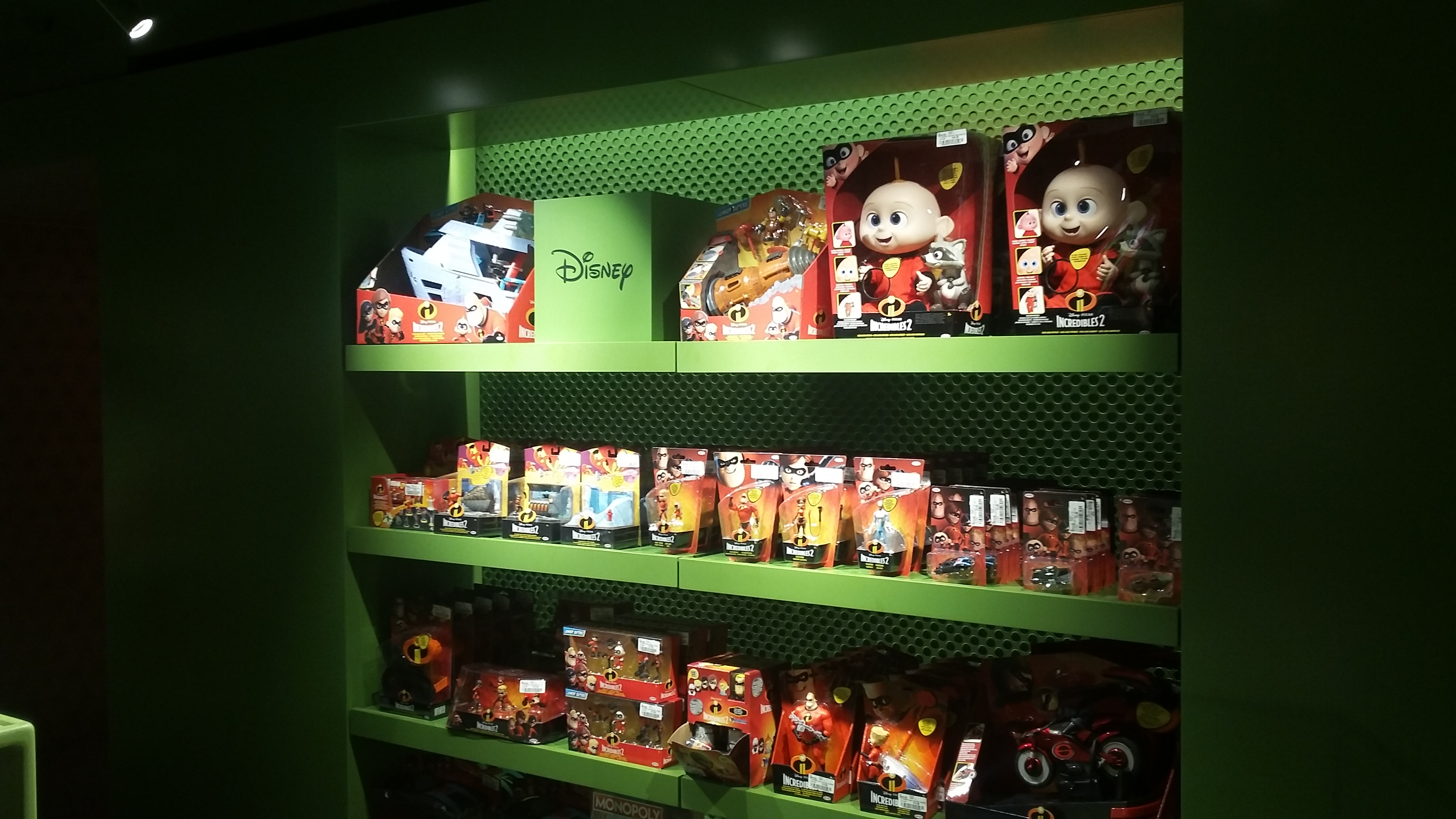 Harrods - Incredibles 2 toys