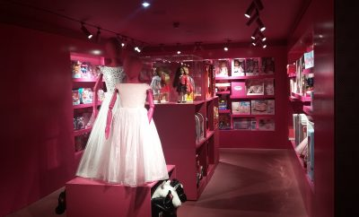 Harrods - pink room for dolls and fancy dress