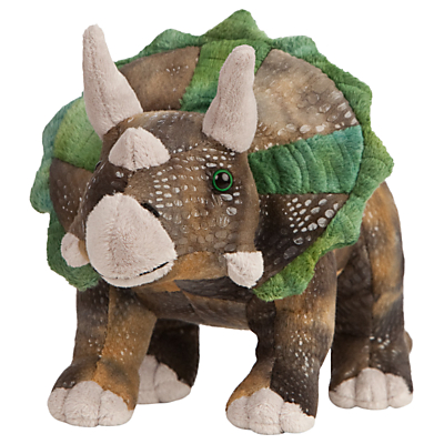 Picture of Living Nature Triceratops Dinosaur Plush Soft Toy
