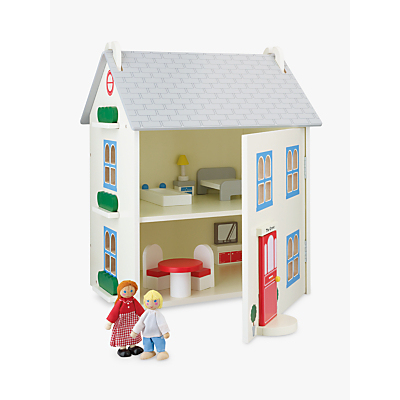 Picture of John Lewis & Partners Wooden Doll's House with Furniture