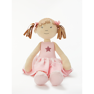 Picture of John Lewis & Partners Fairy Ballerina Ragdoll Soft Toy